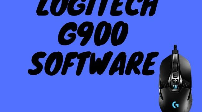 Logitech g900 software