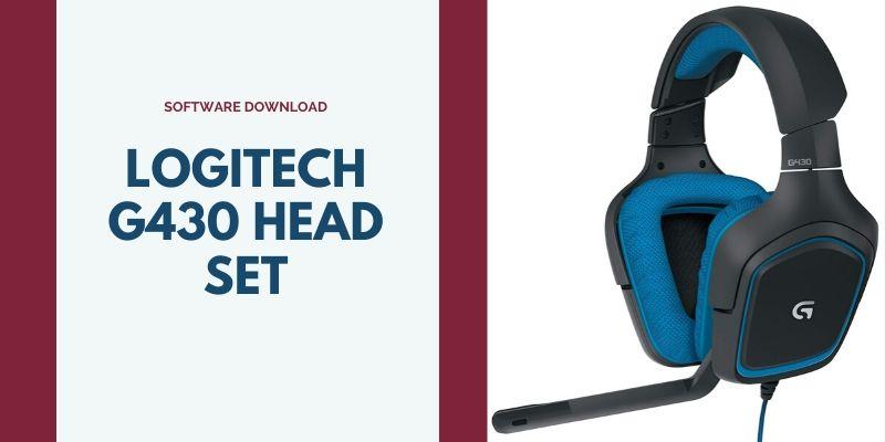 logitech headset g430 driver