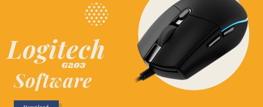 Logitech g203 software