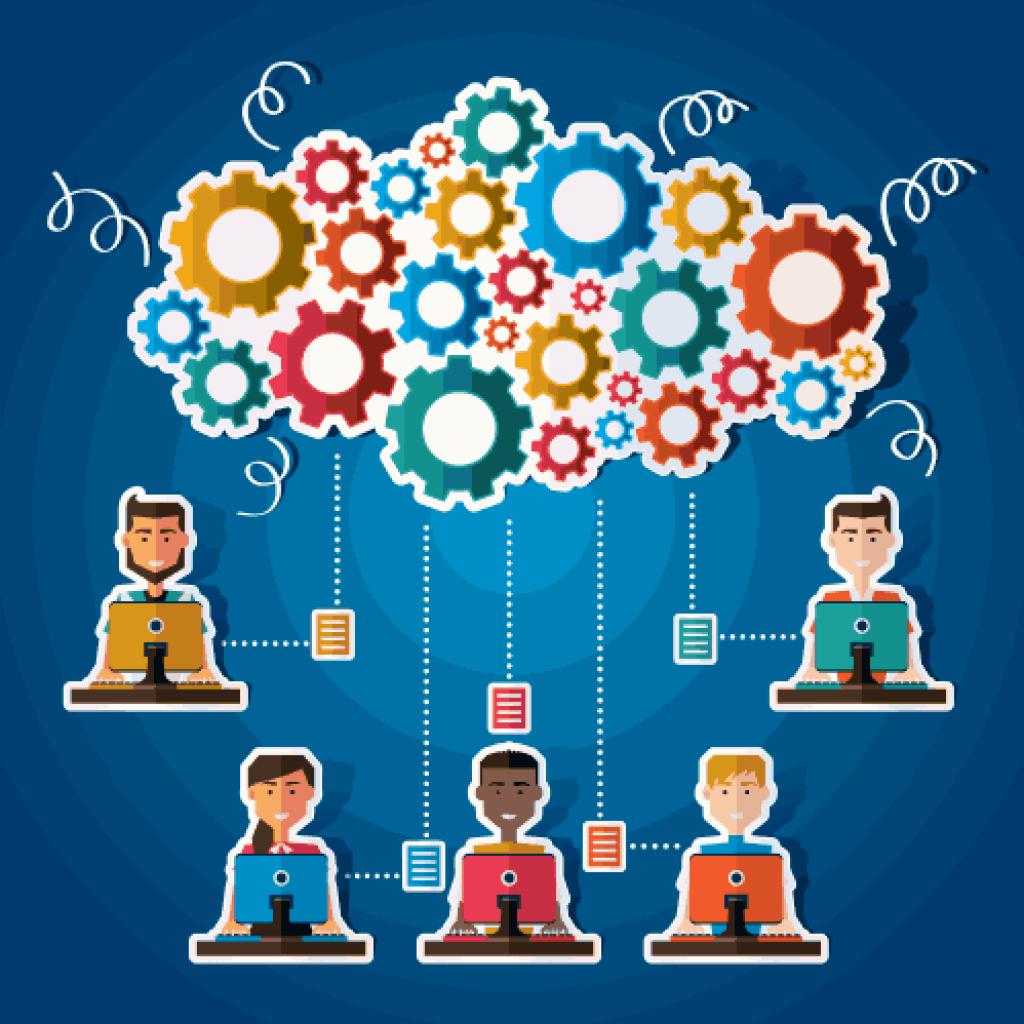 Cloud communication demonstration
