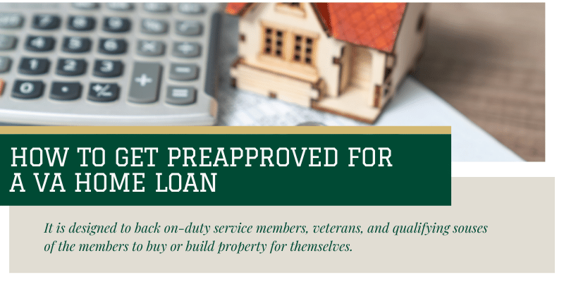 How to get preapproved for a va home loan